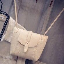цена на 2019 New Casual Vintage Small Women Bags Leather Messenger Bag Retro Envelope Bag Handbag and Purse Sling Crossbody Shoulder Bag