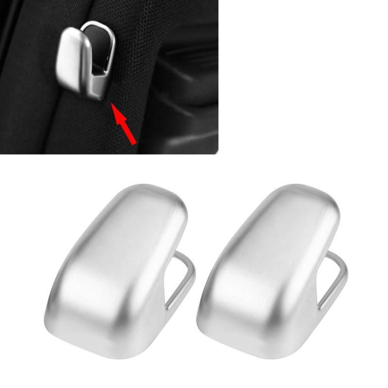 Hook Cover Trim Chrome For <font><b>Mercedes</b></font> Benz E <font><b>Class</b></font> W212 W213 <font><b>S</b></font> <font><b>Class</b></font> <font><b>W222</b></font> 3.2*2cm High quality Hot image