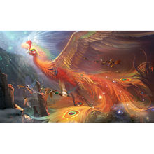 Beautiful phoenix diamond Embroidery diy painting mosaic diamant 3d cross stitch pictures H721