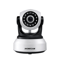P2P Plug And Play IP Camera Wireless Wifi CCTV Camera Indoor Pan Tilt Night Vision Support