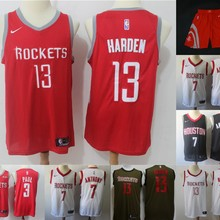 36a199354 Free shipping quality Houston short Mens Adult #13 James Harden 3 Chris Paul  7 Carmelo Anthony Jersey