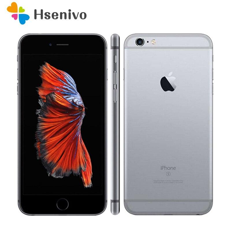 Original Unlocked Apple iPhone 6s 4G LTE Mobile phone 4 7 12 0MP IOS 9 Dual