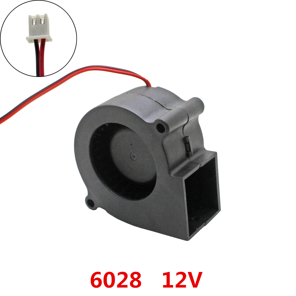 Centrifugal Supercharger Cheap: 10pcs/lot 6028 Blower Cooling Fan DC 12V Brushless