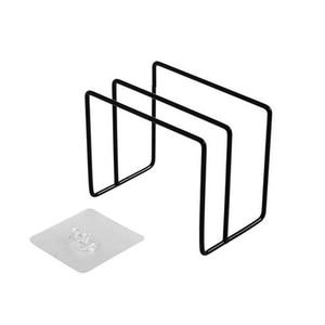 Image 5 - Paslanmaz Çelik Tava tencere kapağı Kapaklar Raf Depolama Mutfak Bulaşık Plakası Katlanır Organizatör çorba kaşığı Dinlendirir raflı stand Kaşık Tutucular