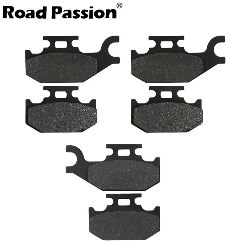 BOMBARDIER Front Rear Brake Pads Outlander 330 400 650 800 2004 2005 2006