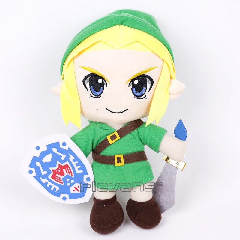 The Legend of Zelda Majora's Mask Link Plush Toy Soft Stuffed Doll Christmas 31cm 2 Styles 1
