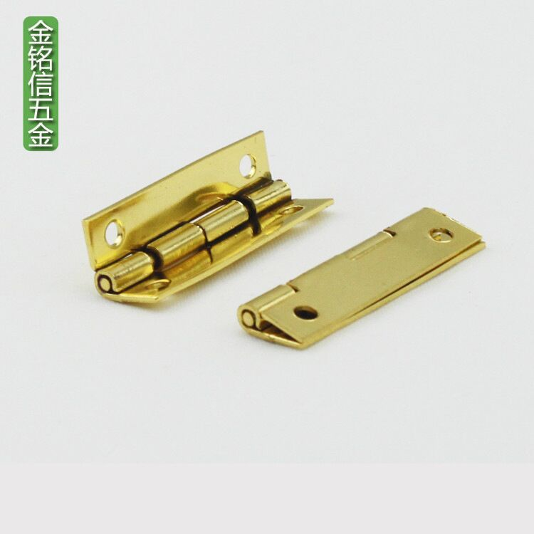 35 * 10 * 0.8mm Muhe hardware accessories Small hinge Gift box hinge Cigar box tea box hinge hinges for caskets 300pcs/1lot tea specaily premium new tea fen quality gift box gift