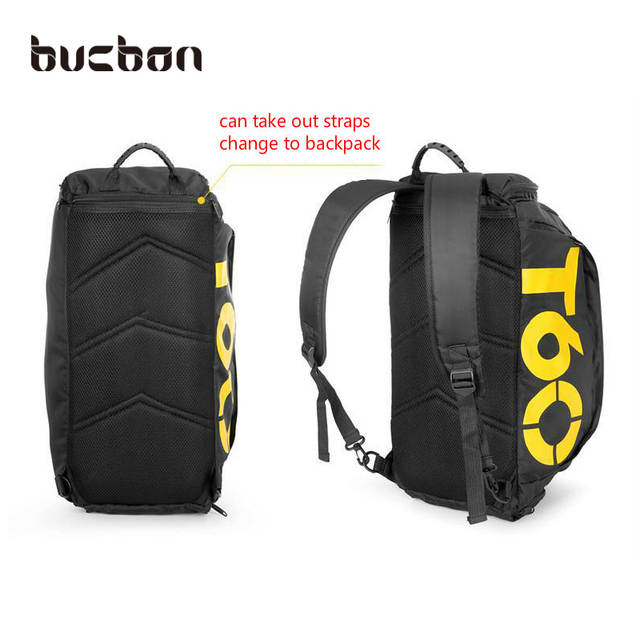 893f6572a318 placeholder Bucbon Multi-use Portable Shoulder Sports Bag Gym Backpack  Separated Shoes Storage Fitness Bags Men