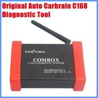 100% Оригинальные инструмент диагностики Беспроводной авто CarBrain C168 Сканер обновление через официальный сайт бесплатная доставка