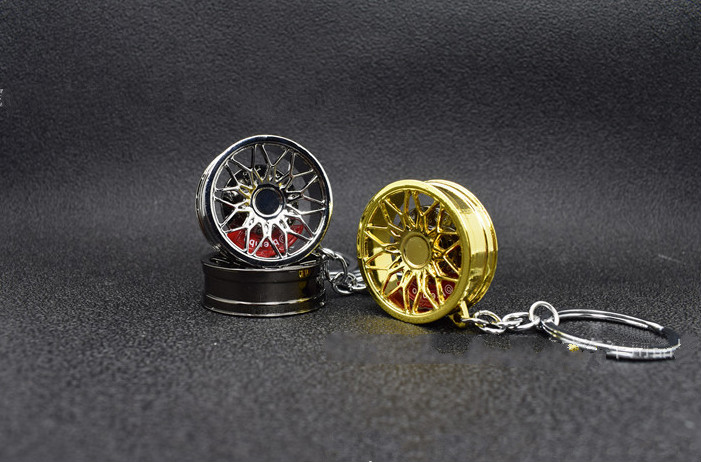 Hot Sale Car Styling Fashion Auto Metal Modified Bbs Turbine Wheel