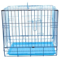 1 pcs Rabbit Dog Cat Metal Pet Cage Length 425mm/Width 305mm/Height 380mm/Door size 287*235mm