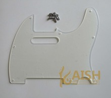 High quality Transparent TL  Single Coil Guitar Pick Guard Clear Scratch Plate with Screws