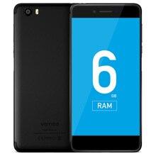 Vernee Mars Pro 4 г Phablet Android 7.0 helio P25 Octa Core 2.5 ГГц 6 ГБ Оперативная память 64 ГБ Встроенная память отпечатков пальцев Сенсор 13.0mp сзади Камера