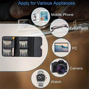 Image 3 - Kit doutils de réparation de téléphone portable 25 en 1 Spudger outil douverture de levier tournevis pour iPhone iPad Samsung ensemble doutils à main de téléphone portable