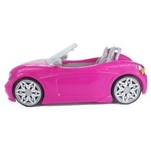 1/6 puppe Auto 2 Sitze Rosa Cabrio für Barbie Puppe Zubehör Klassische Spielzeug Geschenk für Mädchen Kinder Nicht Batterie Powered