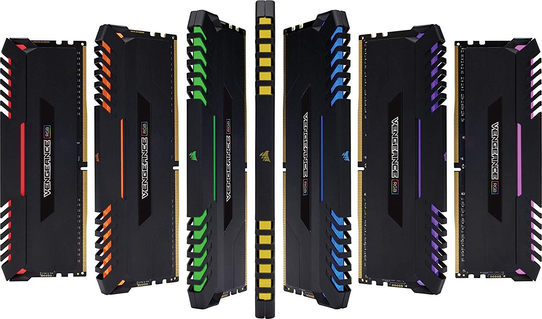Image 4 - CORSAIR DDR4 RAM 8GB 3000MHz RGB PRO DIMM Desktop Memory Support  motherboard ddr4 3000MHz 1.35V  RGB RAM  16GB 32GBRAMs