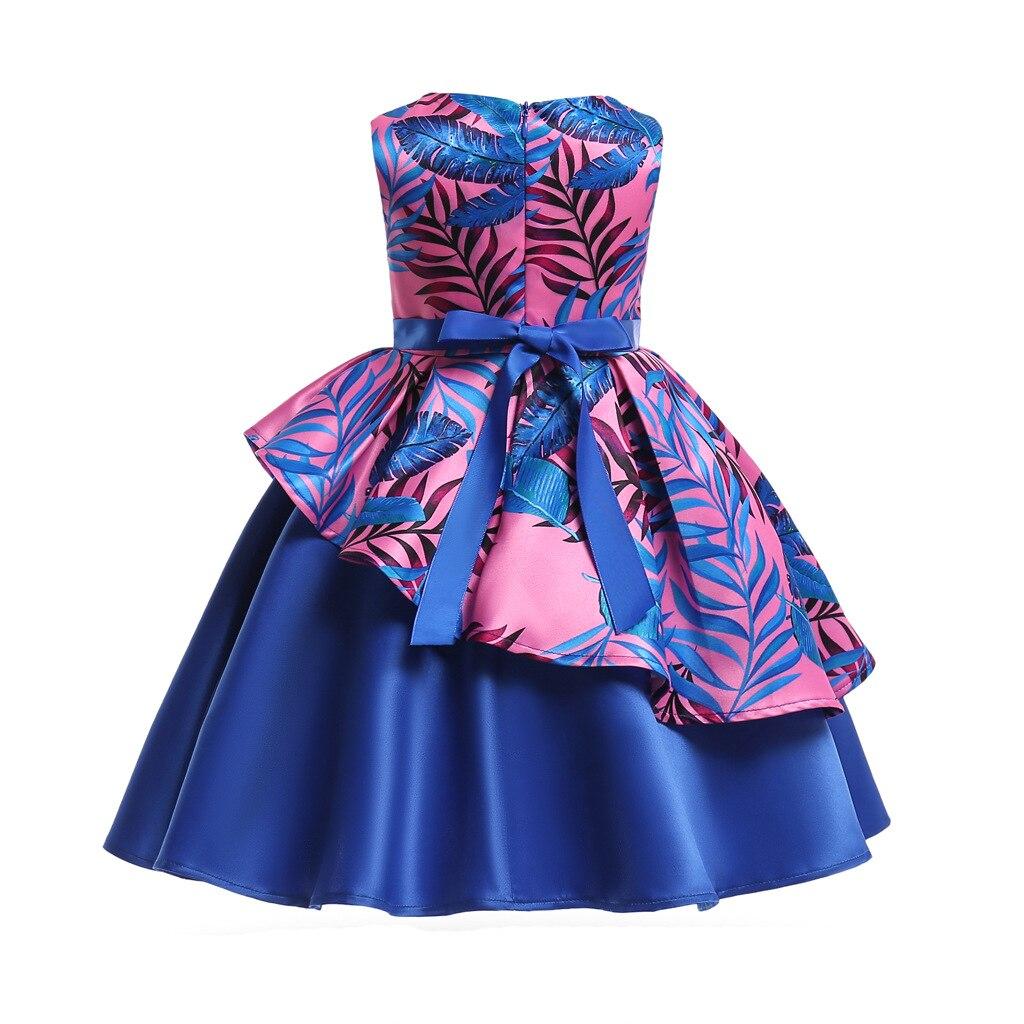 HIBYHOBY 2018 New Girl Formalne Wesele Sukienki Dzieci Princess - Ubrania dziecięce - Zdjęcie 2