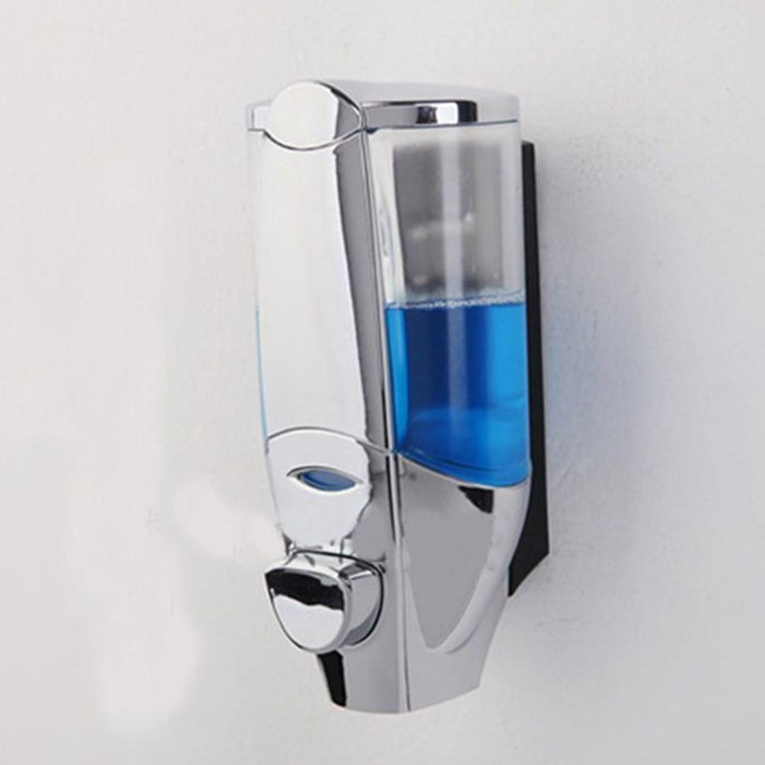 300 мл настенное крепление Мыло средство Ванная комната Санузел Душ шампунь диспенсер Ванная комната полезные продукты