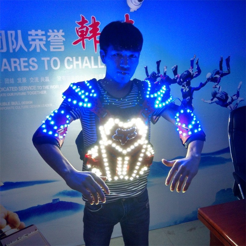 LED armor costumes 017