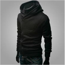 Assassins creed hoodies men hooded sweatshirt brand hip hop Thin black zipper hoodies streetwear survetement homme 2017 Fashion