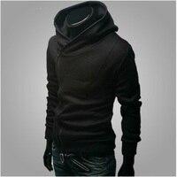 Fashion Assassins Creed Hoodies Men Hooded Sweatshirt Brand Gym Hip Hop Thin Black Zipper Hoodies Streetwear