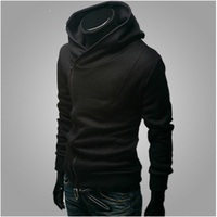 Fashion Assassins Creed Hoodies Men Hooded Sweatshirt Brand Gym Hip Hop Thin Black Zipper Hoodies Streetwear