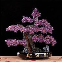 NATURAL amethyst quartz gemstone TREE REIKI Healing