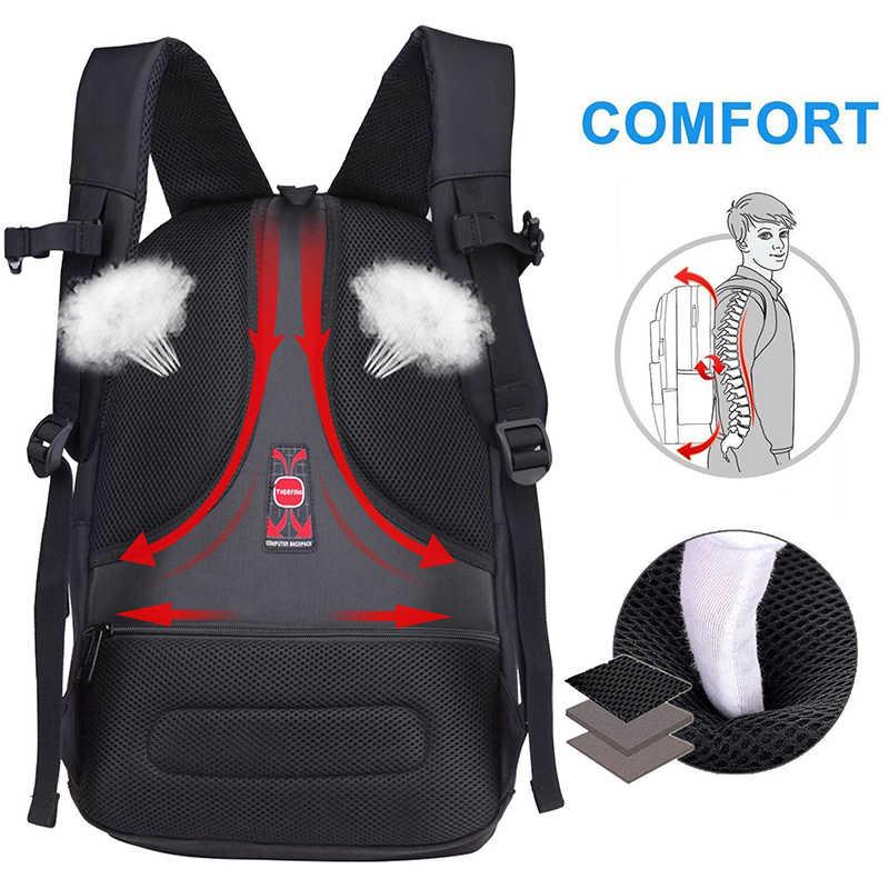 Для женщин Для мужчин рюкзак Tigernu большой Ёмкость Fit 31*42 см ноутбука ежедневно рюкзак Повседневное Бизнес Mochila сумка школьный рюкзак