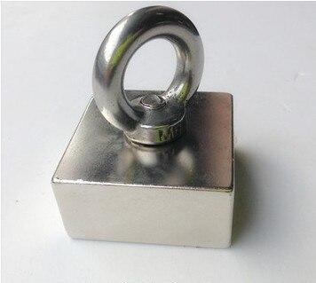 Block hole magnet 50 x 50 x 25 mm powerful magnet neodimiomagnet neodymium  rare earth neodymium permanent strong magnet n50 n52 5pcs round circular cylinder 25 x 20 mm magnet rare earth neodymium 25 20 mm