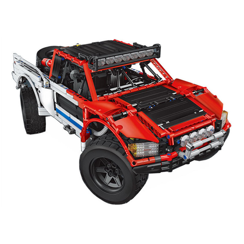 Lepin 23013 Genuine Technic MOC Serie SUV car Pickup truck Building blocks bricks toys for boys Compatible with L-brand Gifts 470pcs hummer technic transport suv racing car truck construction plastic model building blocks bricks lepin