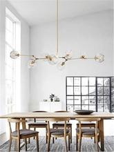 Modern LED Pendant Lamps Glass Pendant Light Glass Bubbles Study Living Room Restaurant Cafe Decor Hanging Lamp Kitchen Fixtures недорого