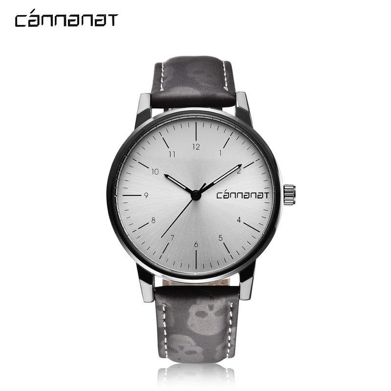new product 838d7 52439 US $15.99 50% OFF Cannanat 高級メンズ Millitary  腕時計カップルの腕時計メンズシンプルなファッション高品質革バンドスポーツ腕時計 - Aliexpress.com   Alibaba グループ上の  腕時計 からの クォーツ時計 の中