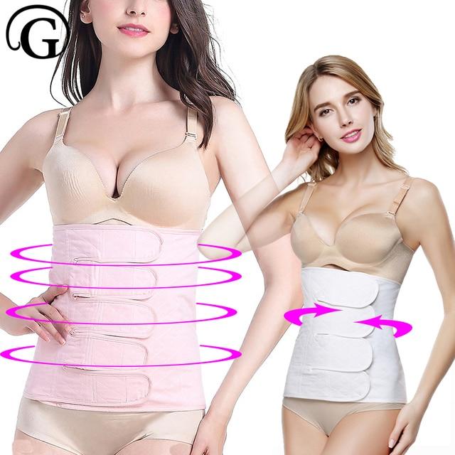 e151d3162 Body Shaper Waist Corset Slimming Belt Women tummy trimmer Waist Cincher  trainer belly band belt strap wrap Shapewear girdle