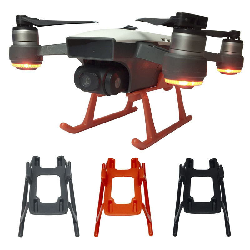 Heightened Landing Gear Extender For DJI Spark Drone Protector Quick Release Landing Leg Guard Protective Accessories Spare Part
