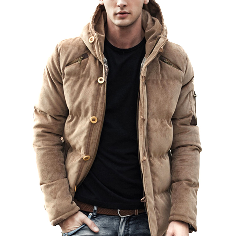 Parka Mens Winter Jacket Long Sleeve Warm Men Coats Cotton Slim Hooded Outwear Coat Casual Male Padded Jackets Clothing parka mens winter jacket long sleeve warm men coats cotton slim hooded outwear coat casual male padded jackets clothing