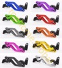 For Yamaha XT660 XT660R XT660X 2004 2013 Short Clutch Brake Levers CNC Adjustable 10 Colors 2005