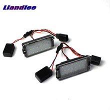цена на Liandlee For SEAT Toledo Mk3 5P / Mk4 NH / LED Car License Plate Lights / Number Frame Light / High Quality LED Lamp