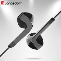 OriginalStereo Bass Earphones Noise Cancelling Volume Control With Mic Remote 3 5mm Headphones For Phones Mp3