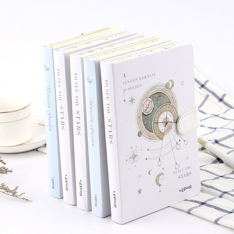 A5 Creative Magnetic Buckle Notebook Paper Planner Bullet Journal