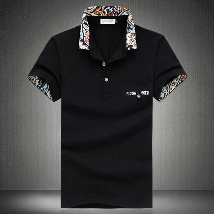 Polo   New 2019 Casual Camisa   Polo   Shirt Men Brand Cotton Short Sleeve Men   Polo   Designer Brand Solid   Polo   Shirt Size 5xl