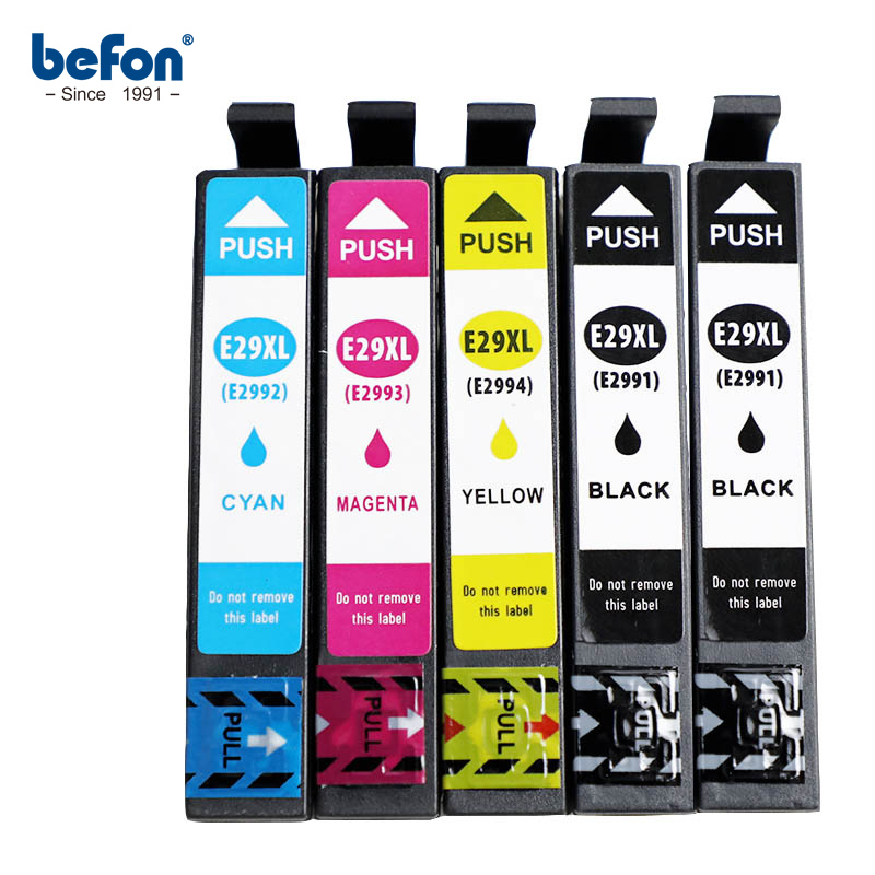 Befon Ink Cartridge 29 29XL T2991T2991XL Compatible For Epson XP235 XP247 XP245 XP332 XP335 XP342 XP345 XP435 XP432 XP442