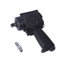 1/2 Inch Mini Pneumatic / Air Impact Wrench Air Impact Wrench Car Repair Auto Wrench Tool double ring hammer