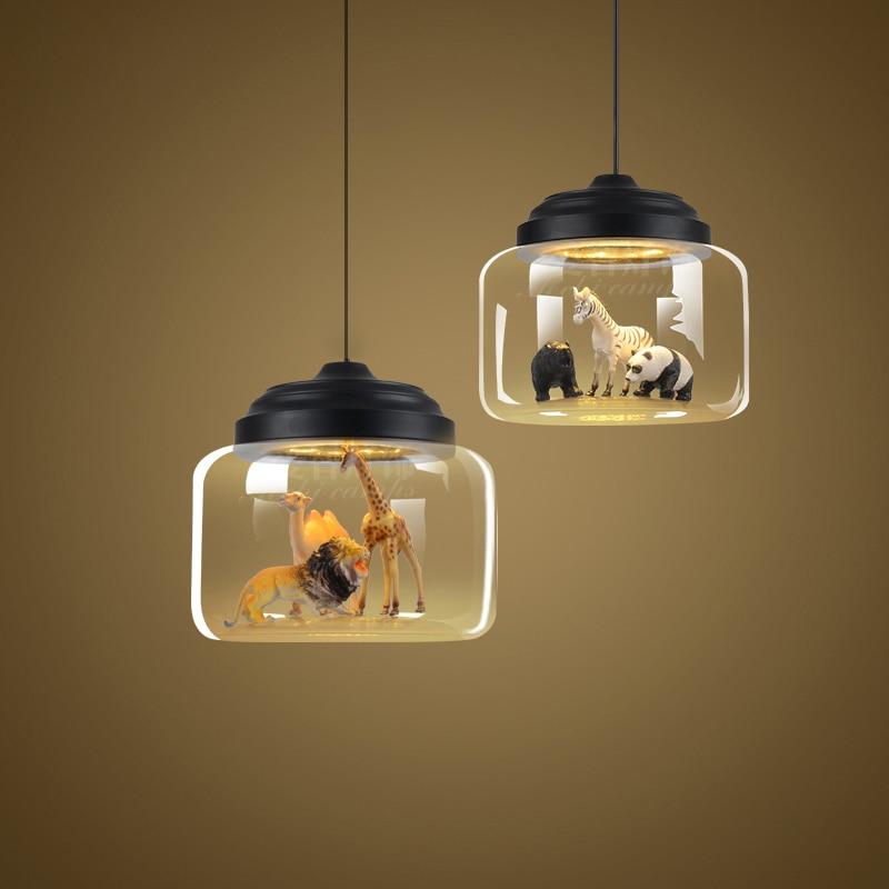 Minimalist Glass Lampshade Pendant Lamp Nordic Modern ...