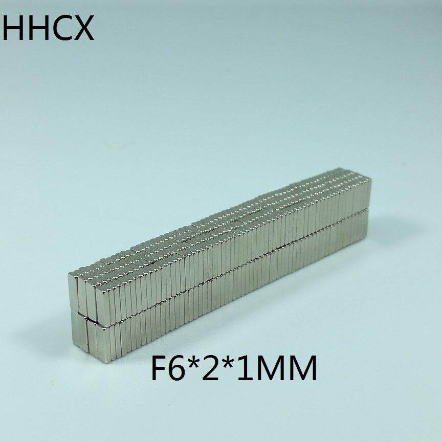 1mm Neodym Magneten 6mm X 2mm X 1mm Heimwerker Radient 500 Teile/los Magnet 6x2x1mm N35 Starke Platz Ndfeb Rare Earth Magnet 6*2