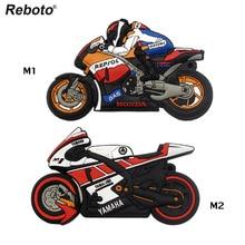 Reboto motorcycle U disk pen drive keychain gift pen drive 8gb 16gb 32gb moto car cartoon usb flash drive autobike pendrive