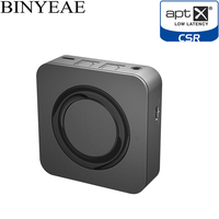Binyeae Dual Link Bluetooth 4.1 Aptx Low Latency Optical SPDIF Toslink Transmitter Receiver Wireless Audio Music TV Adapter