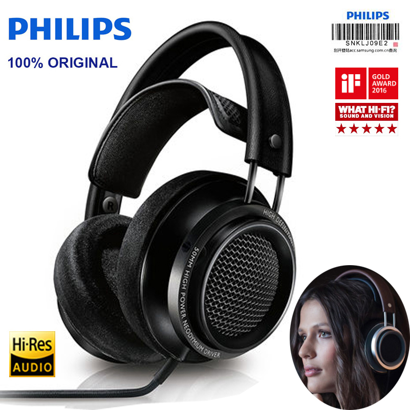 Philips X2HR Professional Headphones Voted Best Product In 2015 CES ASIA 2016 With 50mm High power
