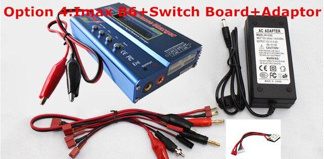 IMax B6 AC Digital LCD Lipo NiMh 2s - 6s battery Balance Charger P2