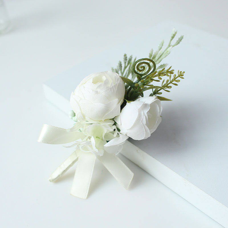 wedding boutonniere corsage groom  (31)
