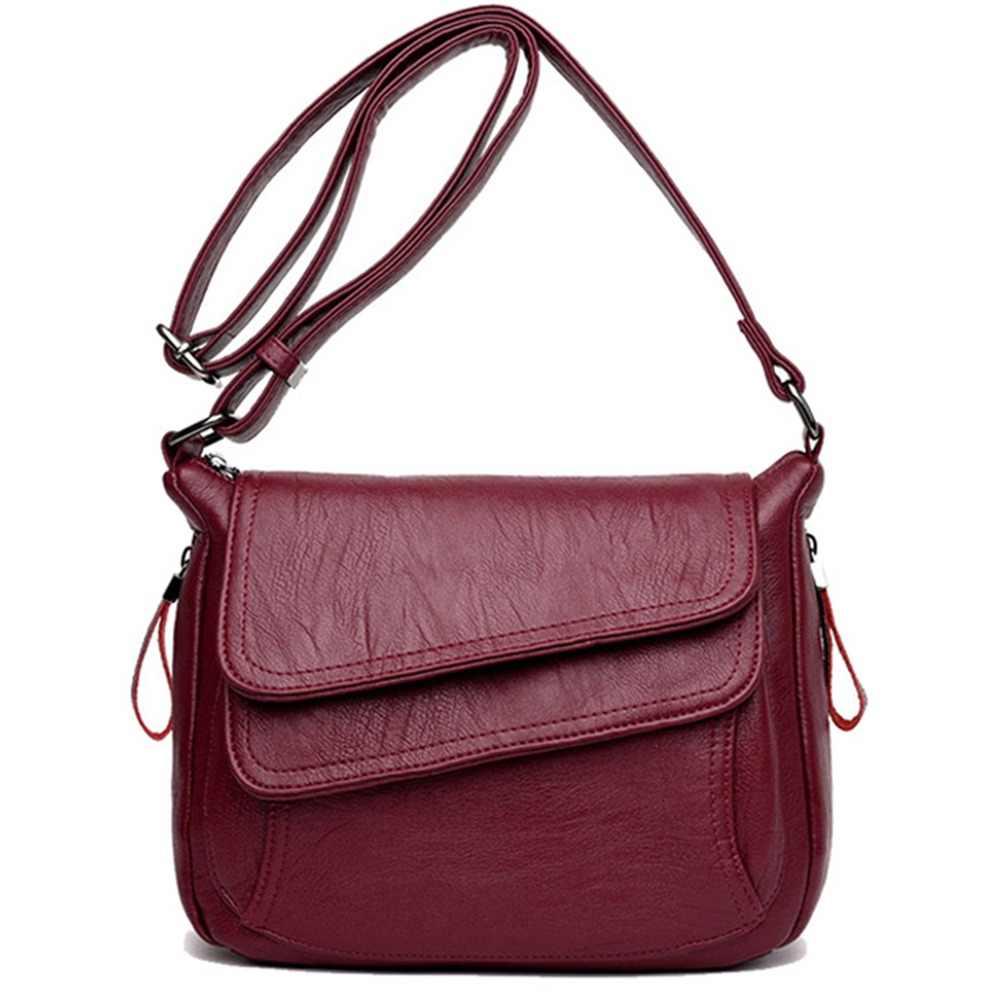 a8e41fe44153 7 цветов Роскошные кожаные сумки женские сумки дизайнерские женские сумки-мессенджеры  летняя сумка женские сумки